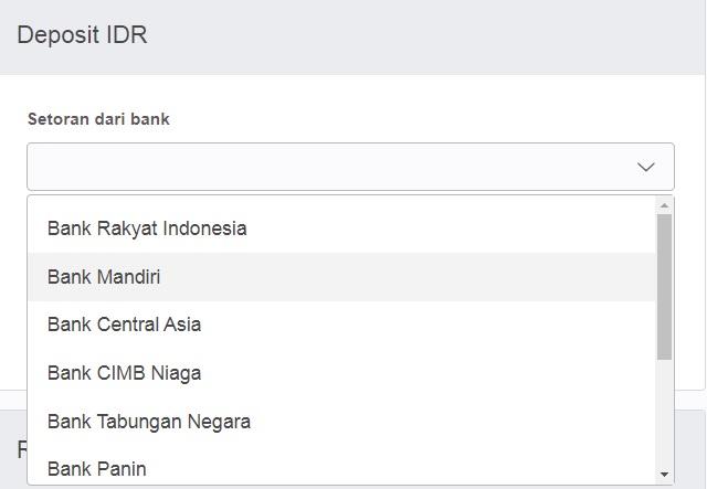 transaksi bitcoin bank lokal
