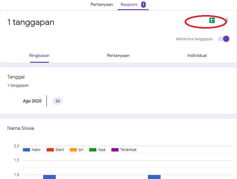 cara membuat absensi dengan google forms 11
