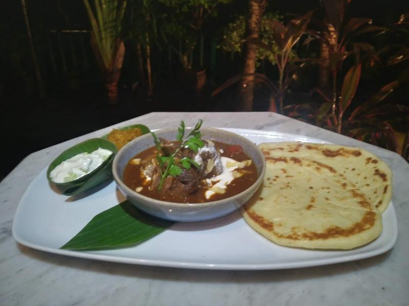 Salah satu main course dari India resto gajah wong