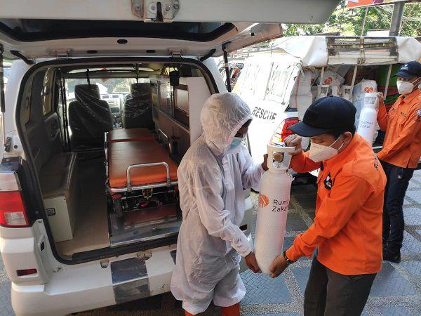 bantuan tabung oksigen rumah zakat