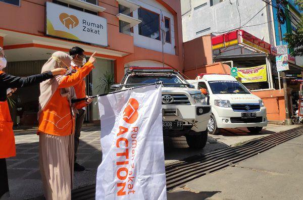 bantuan ambulans bersama hadapi corona rumah zakat