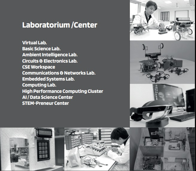 laboratorium center prodi CSE STEM Prasetya Mulya